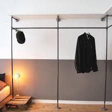 wandregal pipe open wardrobe designed by various offener kleiderschrank von