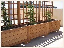 Raised Planter Beds by Raised Planter Beds For Utility Easement Along Fences Outside