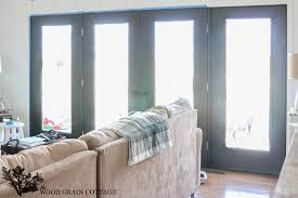 How To Paint Interior Doors by Black French Doors The Wood Grain Cottage