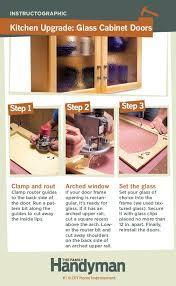 diy kitchen cabinet doors with glass diy tutorial how to convert wood cabinet doors to glass