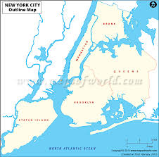 map of new city map of new city major tourist attractions maps