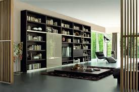 contemporary bookshelf intefrated with media center for living contemporary bookshelf intefrated with media center for living room design