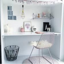 tendance chambre enfant bureau girly scandinave new desk pinterest girly bureau et
