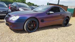 mercedes wandsworth mercedes sl500 wrapped look sl55 sl350 in wandsworth