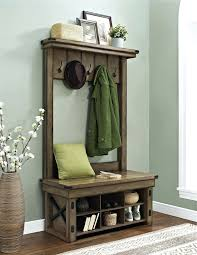 Bench With Shoe Storage Plans - entryway bench with shoe storage plans hall tree do it yourself