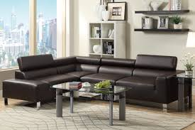 Modern Sectional Sofas Miami by F7299 Espresso Modern Sectional Miami Furniture