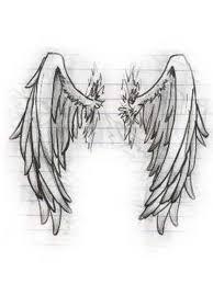 back tattoos wings angel wing drawing tattoo tattoos book
