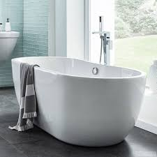 freestanding bath 1650 x 750mm double ended white acrylic freestanding bath 1650 x 750mm double ended white acrylic round bathroom