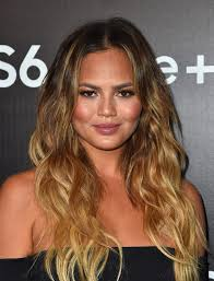more pics of chrissy teigen ombre hair 7 of 22 long hairstyles