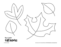 coloring page exquisite a drawing of leaf templates 001 coloring
