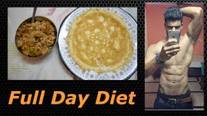 full day diet lean bulk indian bodybuilding diet