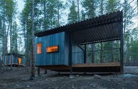 nice simple minimalistic cabins in colorado more here