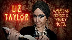 liz taylor u2022 american horror story hotel u2022 makeup transformation