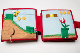 completed super mario brothers quiet book mistyswhimsies