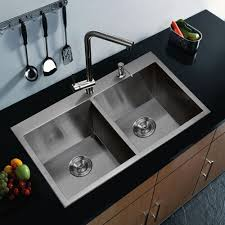 scratch resistant stainless steel sink water creation premium scratch resistant satin 33 inch zero radius