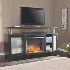 fireplace cool menards electric fireplace tv stand home design