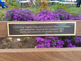 native plants extension master gardener master gardener tribute bench u0026 garden master gardeners of