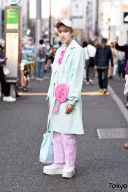 K He Pink Harajuku Guy In Mint U0026 Pink Fashion W Pinky Magic Dolls Kill G2