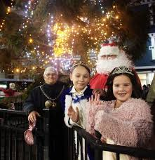 in pictures towns lit up to welcome in christmas news