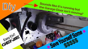genie garage door opener not working genie garage door opener not moving grinding noise amazon part