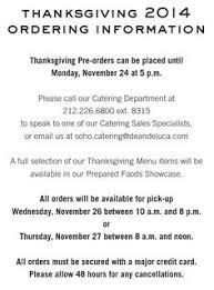 dean deluca thanksgiving 2014 recipe guide thanksgiving and