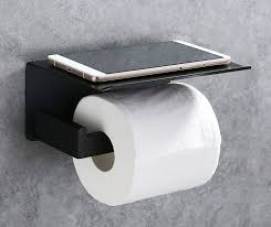 Toilet Paper Rack Amazon Com Toilet Paper Holder Apl Sus304 Stainless Steel