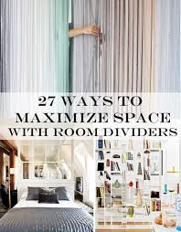 Living Room Divider Furniture 27 Ways To Maximize Space With Room Dividers
