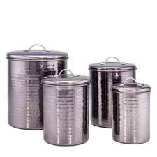 black canisters for kitchen black kitchen canisters for less overstock com