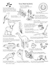 texas symbols worksheets texas state symbols coloring pages
