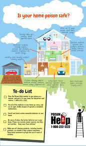 Spring Home Tips New Jersey Poison Information U0026 Education System Handouts