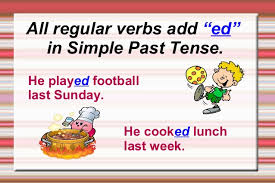regular verbs some rules