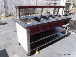 steam table with sneeze guard dallas inventory servolift electric steam table 5 wells with