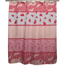 amazon com famous home shabby chic shower curtain rose home