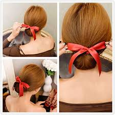 chignon tool ribbon magic twist bun maker clip hook