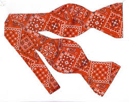 bandana bow western southwestern bow ties bow tie expressions