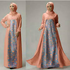 gamis modern baju setelan gamis muslim wanita terbaru dan modern