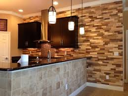 kitchen tiled walls ideas kitchen remodel wood accent wall contemporary kitchen ta