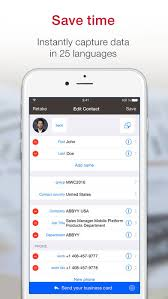 Business Card Reader Scanner Business Card Scanner Pro On The App Store