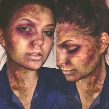creative makeup which is a stereotypical aspect of the horror
