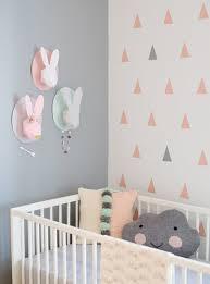Bunny Nursery Decor Baby Nursery Decor White Black Unique Pattern Modern Baby