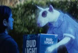 bud light commercial friends spuds mackenzie meet bud light s super bowl commercial dog thrillist