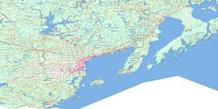 Bay Area Map Thunder Bay Topo Map Free Online Nts 052a On