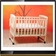 multi functional environmental solid wood baby crib 613