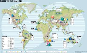 Global Map Of The World by Maximizing Progress Where The Minerals Are Global Maps Of Wealth