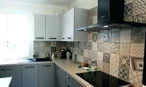 cr馘ence cuisine carreaux de ciment carreaux de ciment pour cuisine carreaux de ciment credence cuisine