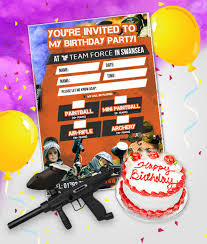 birthday parties archives teamforce paintball in swansea south