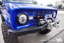old bronco jeep 2016 sema hellwig bronco
