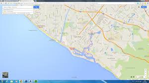 Goo Map Map Of Newport Beach California California Map