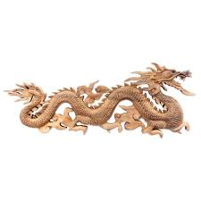 metal home decorating accents baru klinthing dragon traditional artisan handmade hand carved home