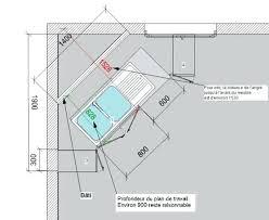 taille plan de travail cuisine hauteur standard plan de travail cheap hauteur standard miroir